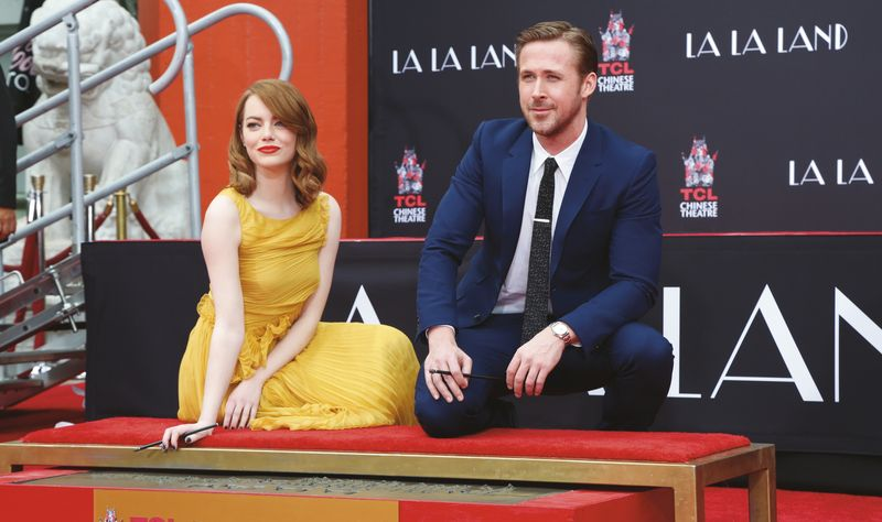 Emma Stone and Ryan Gosling Oscars